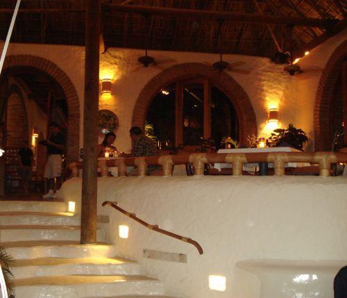 Bar & restaurant at Pelican Eyes