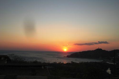 Sunset from Casita Encantada at Pelican Eyes